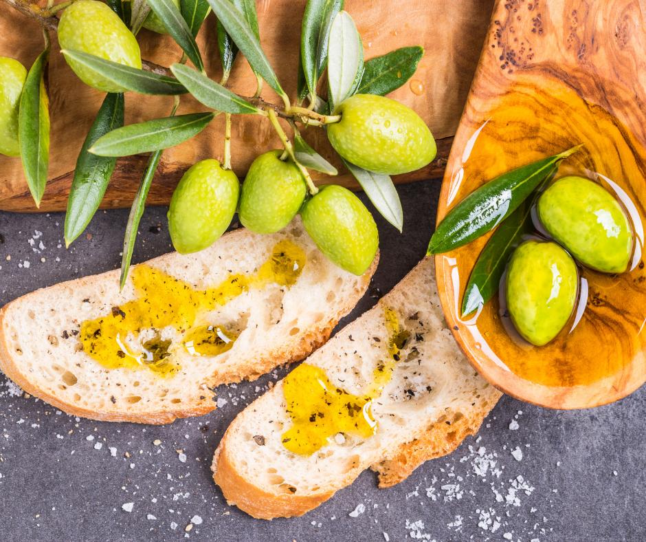 pane tostato con olio extravergine d'oliva