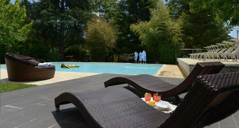 Parco e piscina per eventi a Fiuggi
